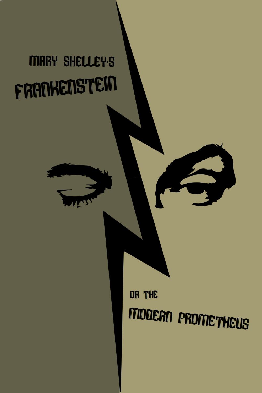 FRANKENSTEIN book cover 1