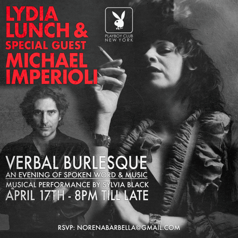 Verbal Burlesque With Lydia Lunch 4.17VNorenaV2