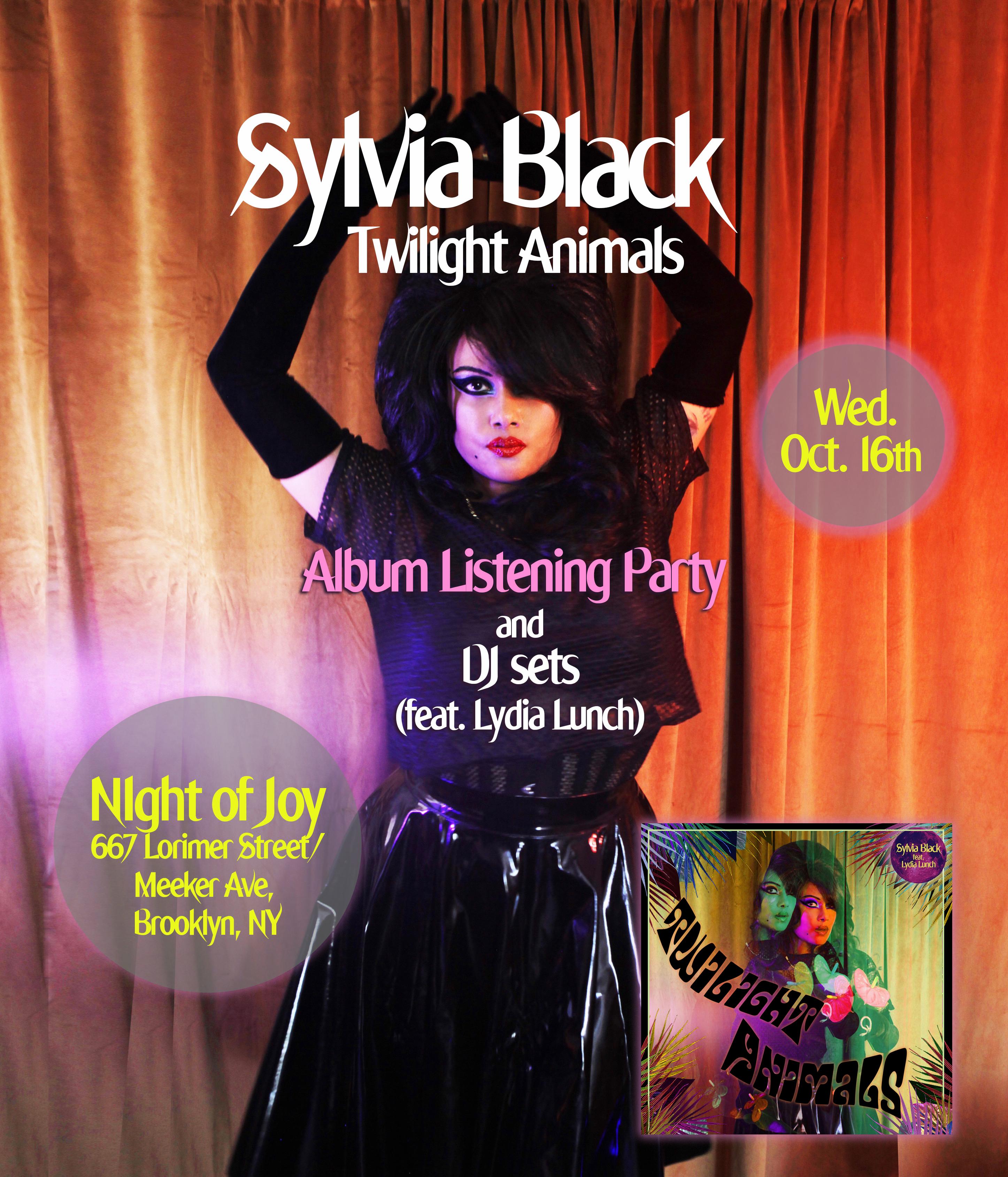 SB night of joy flyer